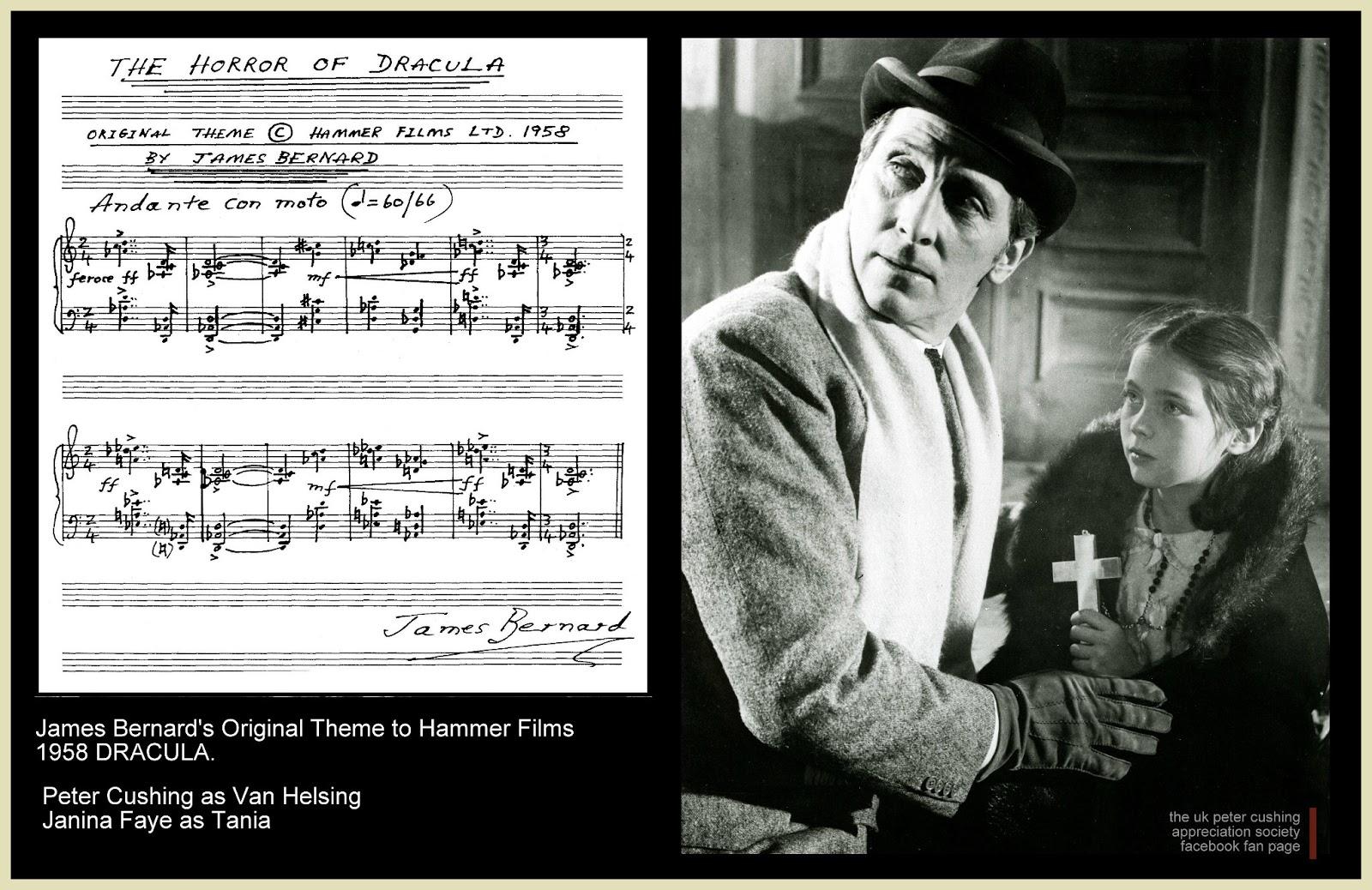 The Black Box Club: JAMES BERNARD'S ORIGINAL THEME TO HAMMER