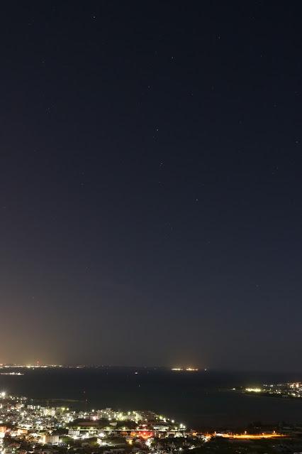 南山 星空夜景