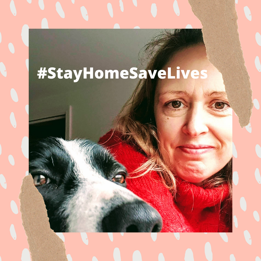 Stay Home Save Lives: Motivational Monday Link Up