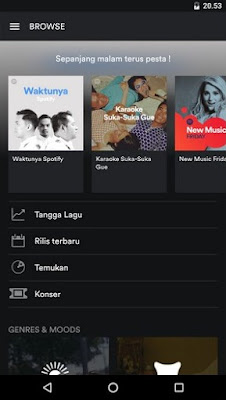 Download Lagu di Spotify Music