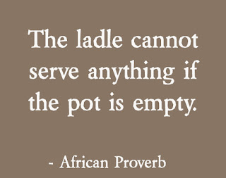 Fill your pot with love African Proverbs