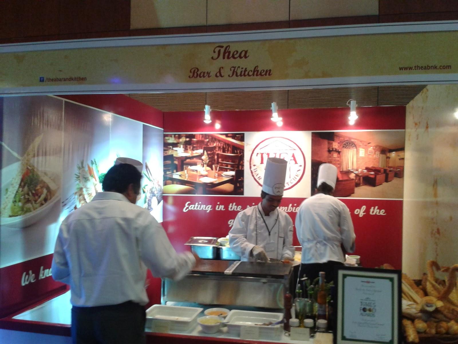 Hyderabad Times Food award Thea
