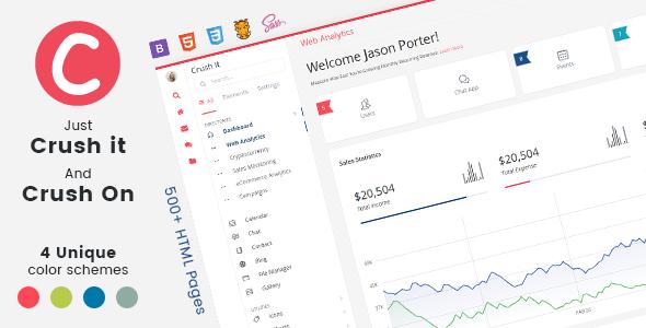Bootstrap Admin Application Template & Ui Kit