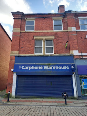 The Carphone Warehouse on Bradshawgate in Leigh, Greater Manchester