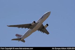 AVIÓN AIRBUS A330 EC-KTG