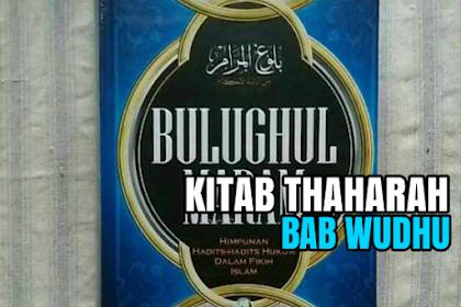 KITAB THAHARAH BAB WUDHU