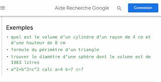 Aide à la recherche en francais de Google Recherche
