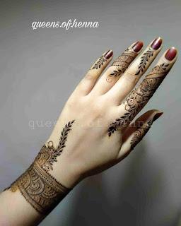 Mehndi Designs 2022 New Style Simple Arabic