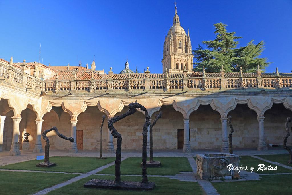 Patio interior de las escuelas menores de Salamanca