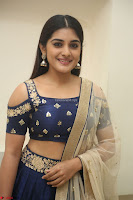 Niveda Thomas in Lovely Blue Cold Shoulder Ghagra Choli Transparent Chunni ~  Exclusive Celebrities Galleries 059.JPG