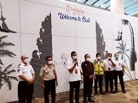 Vaksinasi Covid-19 Bagi Komunitas Bandara Internasional I Gusti Ngurah Rai Bali