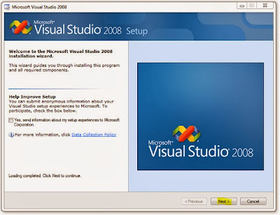 Cara Install Visual Basic 2008