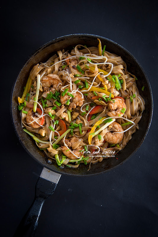 noodles with shrimp