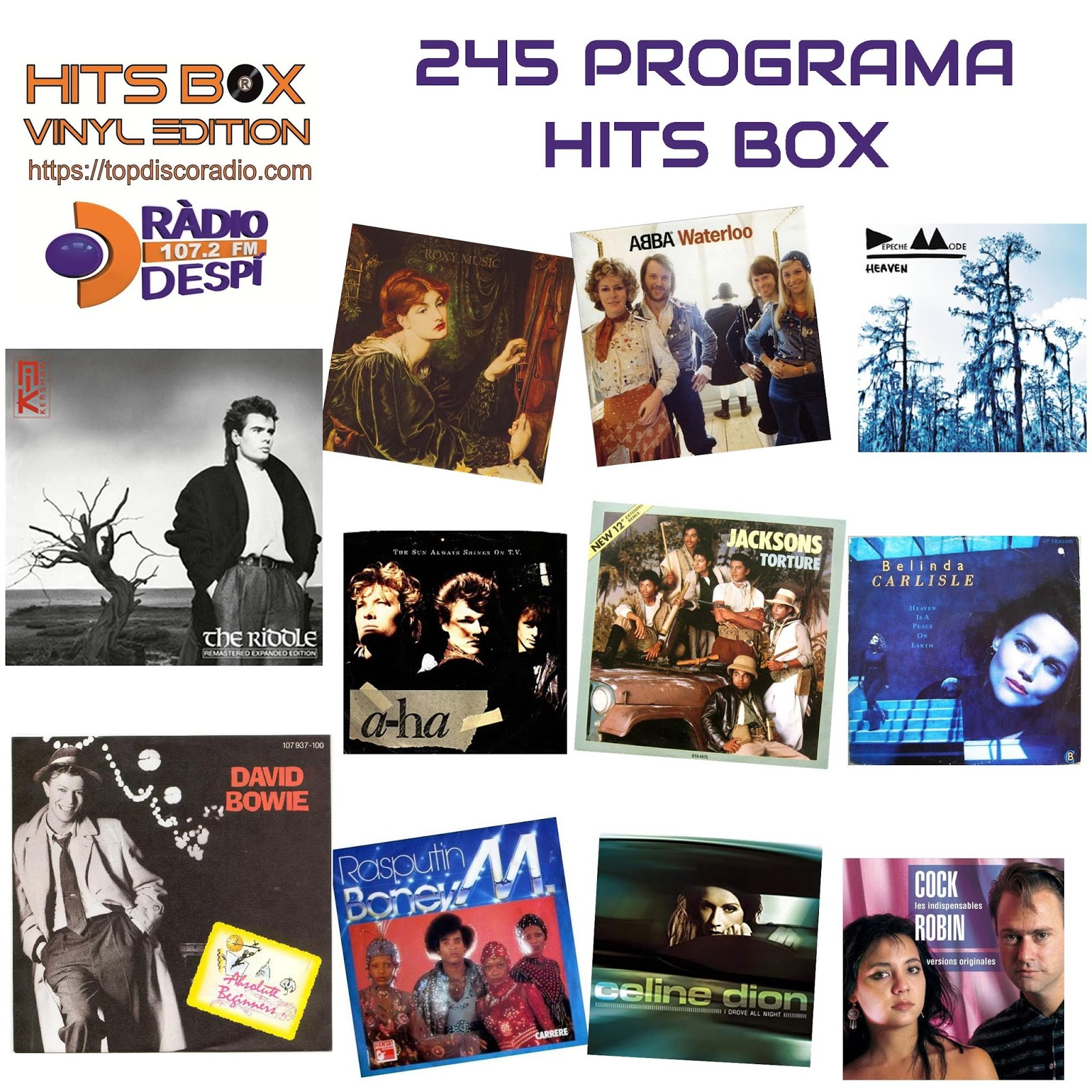 245 Programa Hits Box
