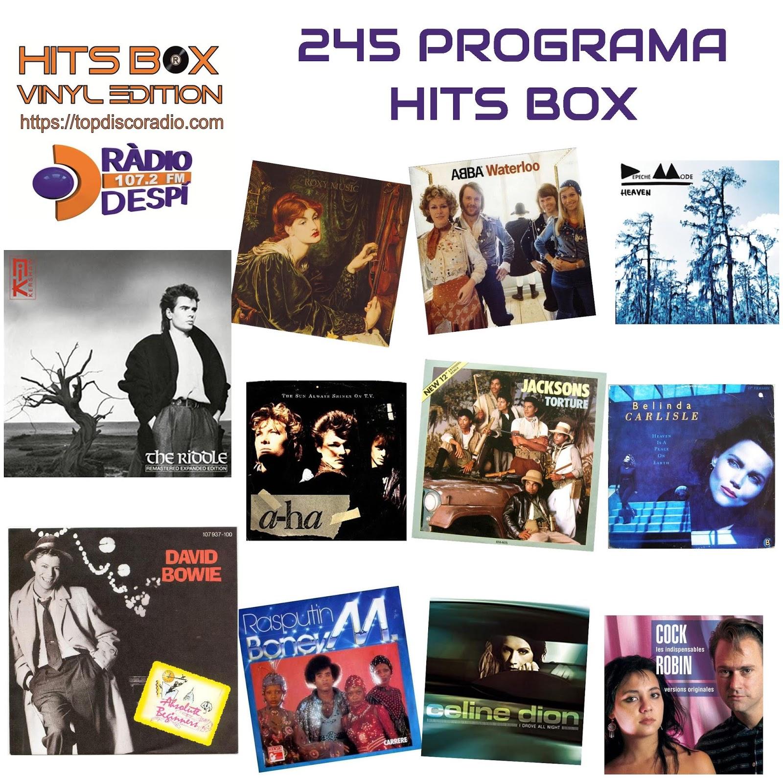 245 Programa Hits Box