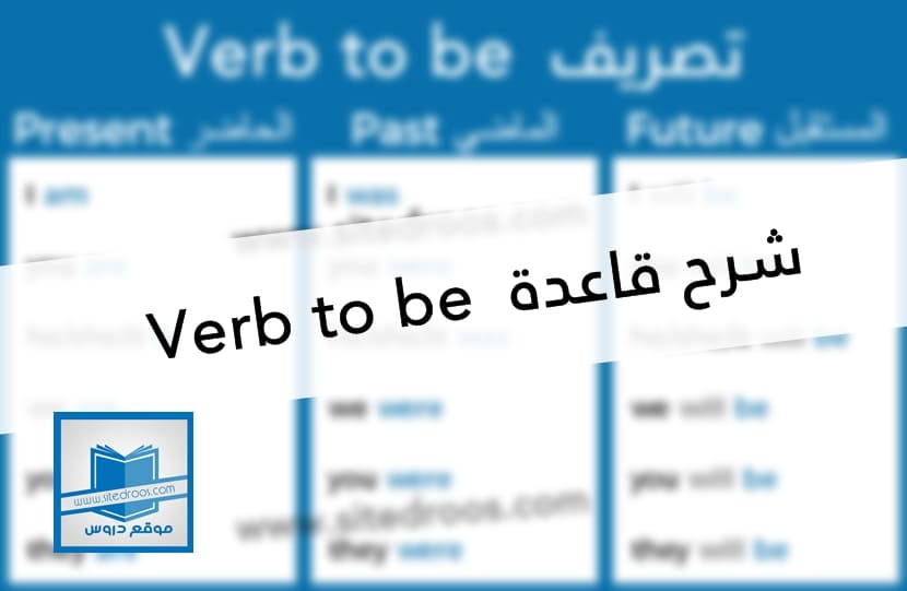 شرح قاعدة verb to be