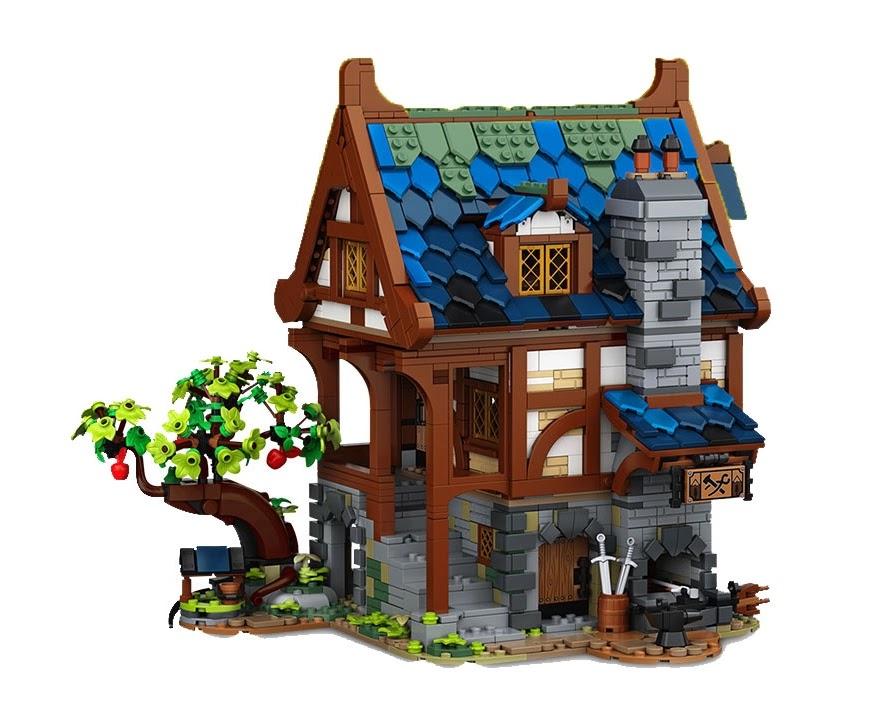 レゴアイデア『21325 中世の鍛冶屋』のティーザー動画公開