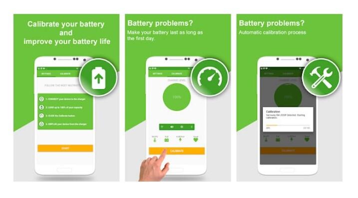 Menggunakan Aplikasi Battery Calibration