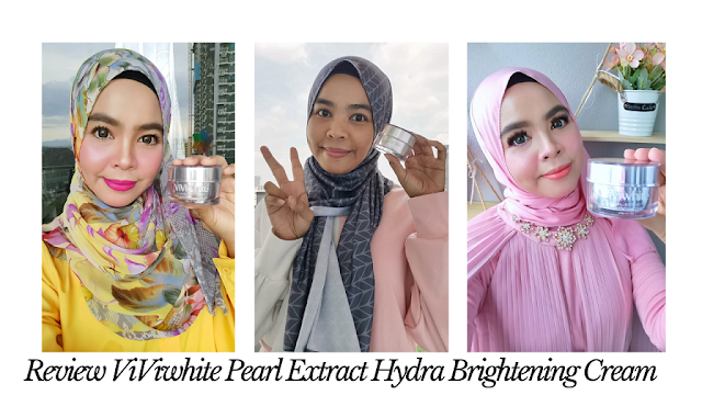 Review ViViwhite Pearl Extract Hydra Brightening Cream