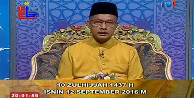 Hari Raya Haji 2016 Aidiladha Jatuh Pada 12 September 2016