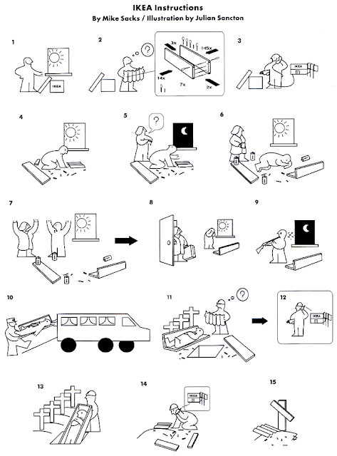 IKEA Instructions Cartoon ~ Silly Bunt