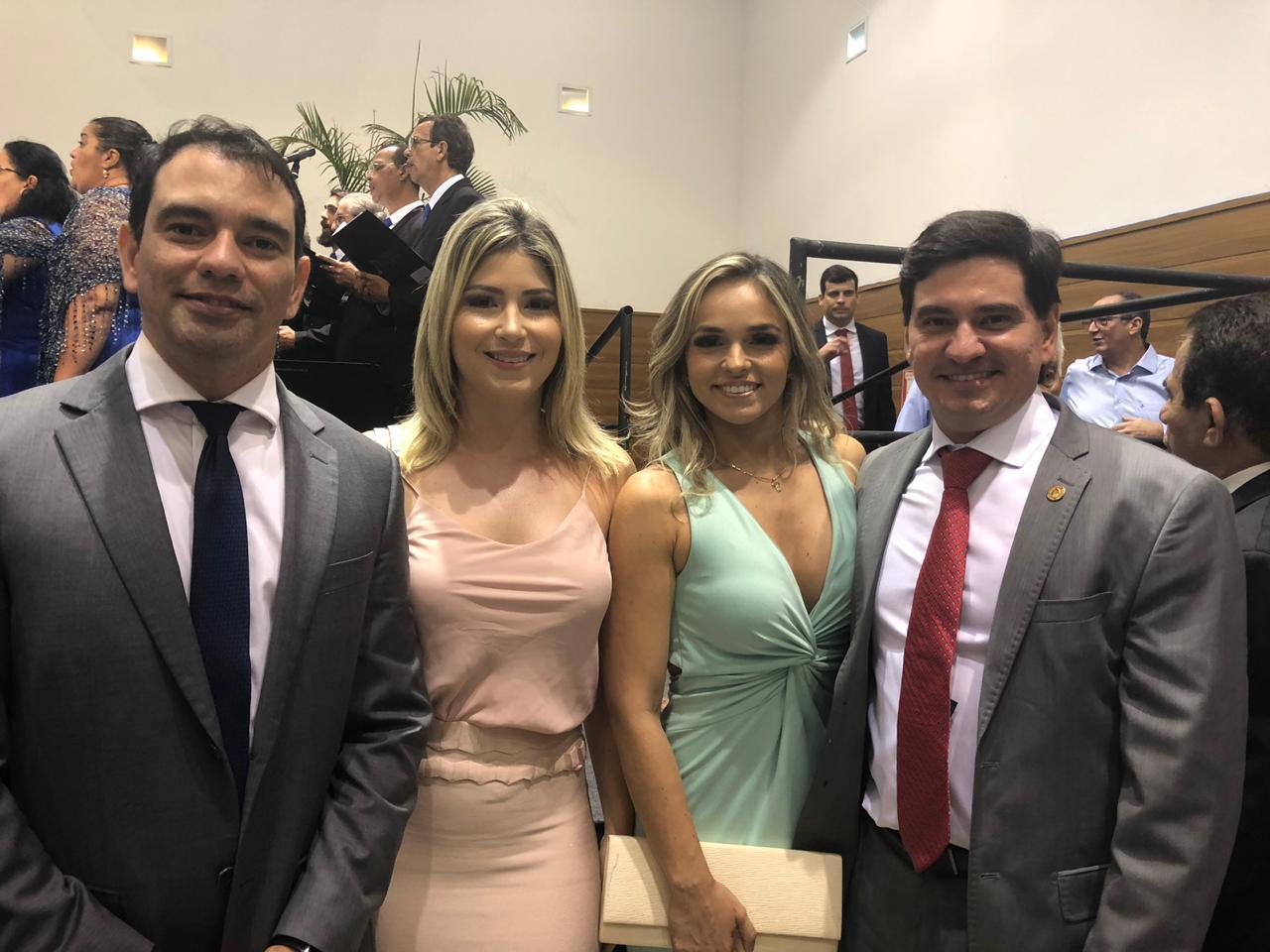George Soares participa da cerimônia de posse da governadora ...