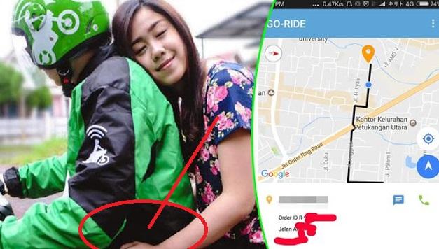 HEBOH..!! Diajak Buka Bareng, Driver Ojek Online Malah 'Nembak' Pelanggan Cantik dengan Cara ini