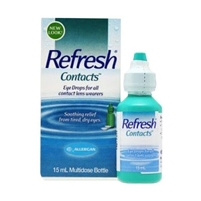 Tetes Mata Softlens Refresh Contacts 15 ml