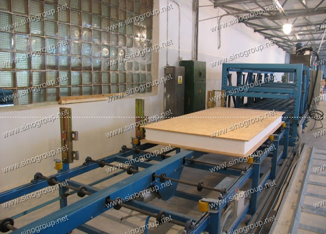 Structural Insulated Panels Production Line Sip Panels
