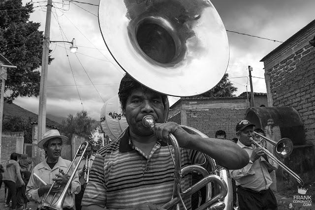 banda de musica en teotitlan de valle
