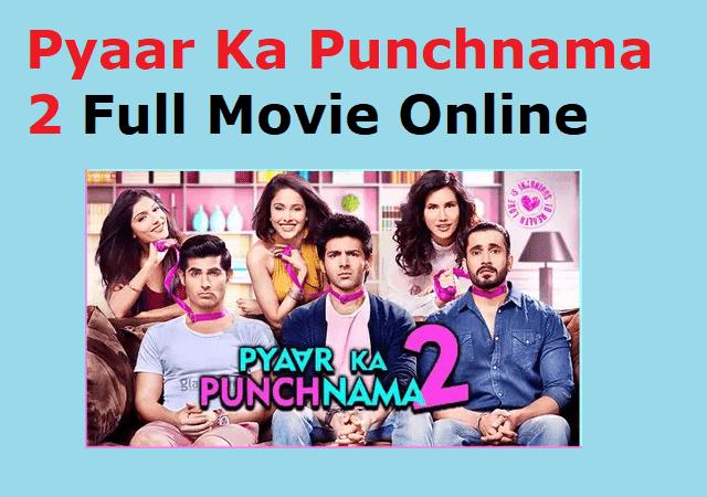 Pyaar Ka Punchnama full movie