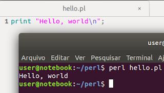 Como programar em Perl