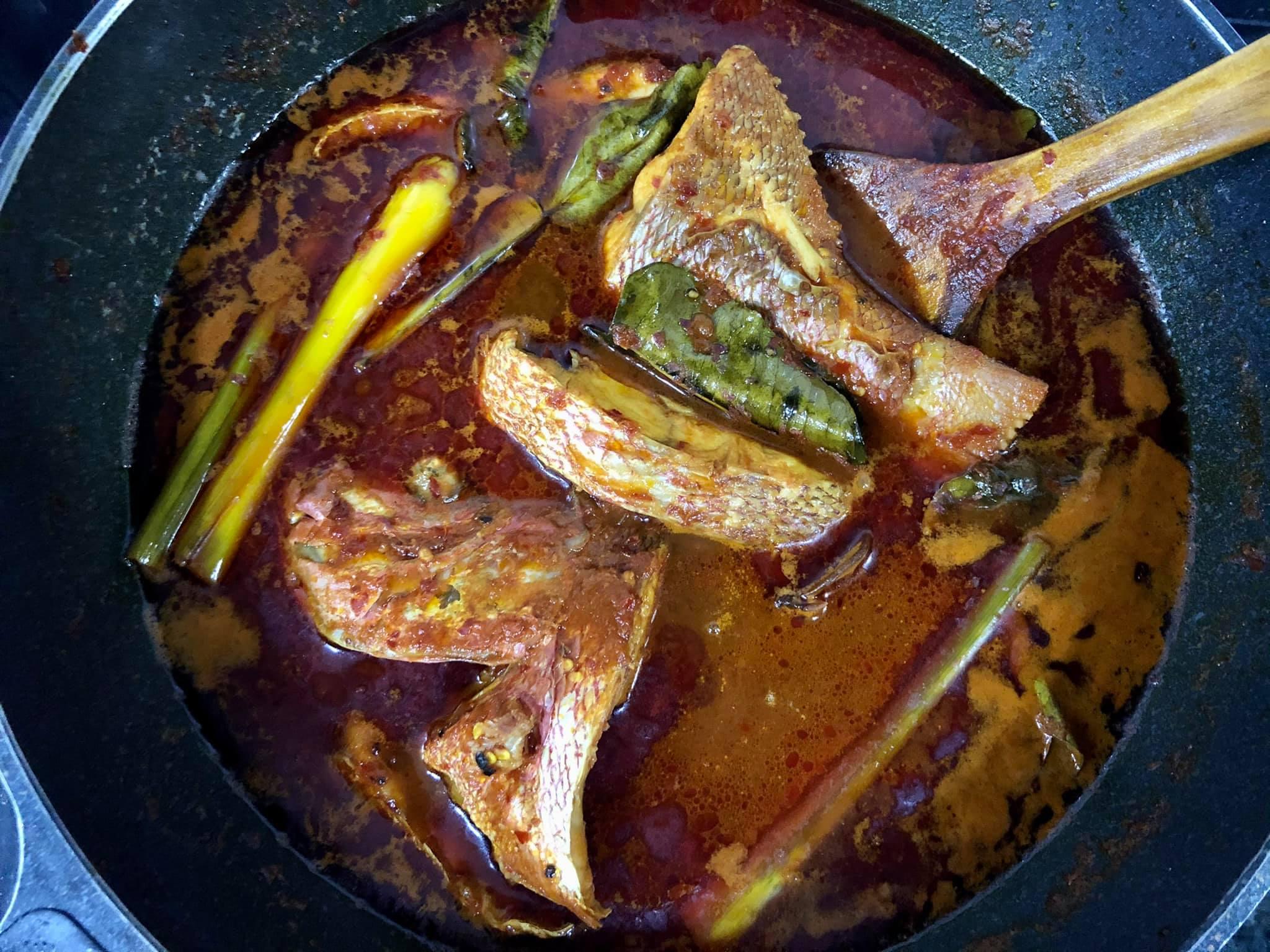 resepi asam pedas ikan club resep hekeng club masak resep masakan indonesia masakan cute Resepi Ikan Masak Asam Halia Enak dan Mudah