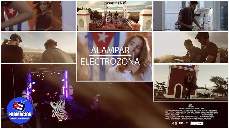 ELECTROZONA - ¨Alampar¨ - Videoclip - Director: Jimmy Ochoa. Portal Del Vídeo Clip Cubano. Música electrónica cubana. Cuba.