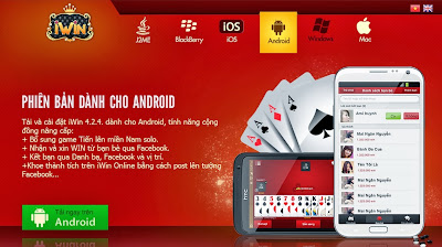 tải game iwin cho điện thoại android