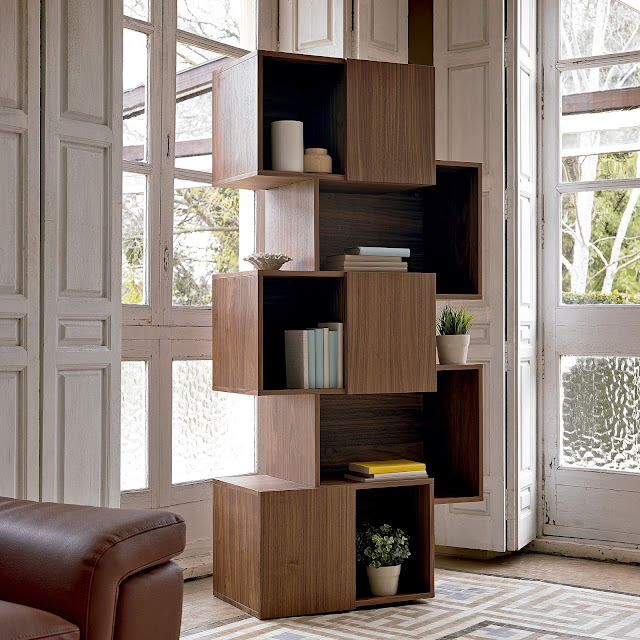 Muebles de sal n originales estanterias modernas for Estanterias originales