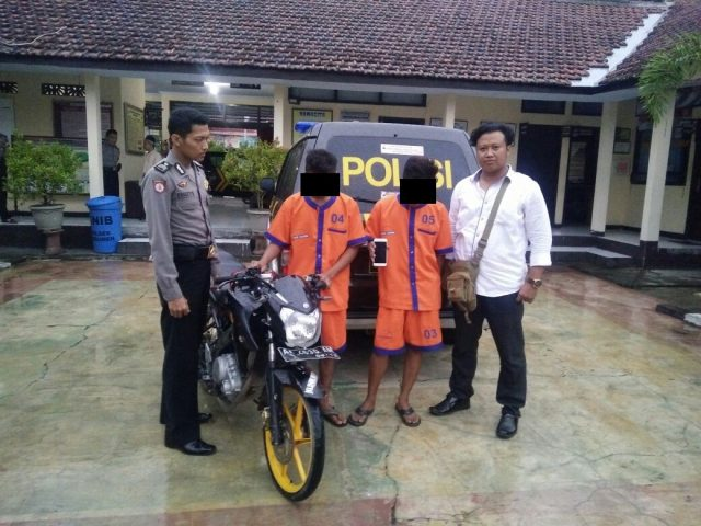 Dua Pemuda Kutowinangun Pelaku Penjambretan Ditangkap Polisi