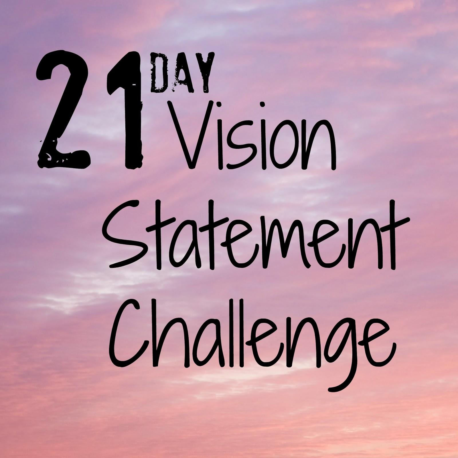 Vision Statement Printables