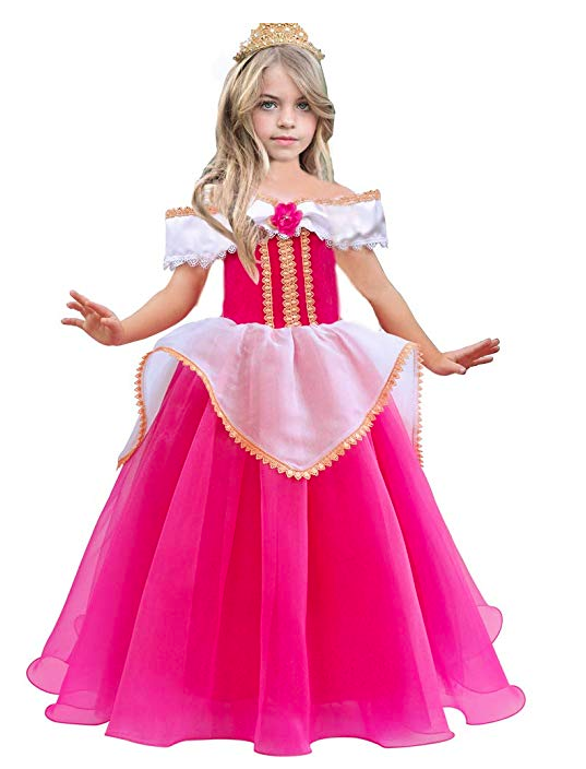 Girls Aurora Costume