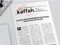HIJRAH DAN KEMERDEKAAN HAKIKI HANYA DALAM ISLAM - BULETIN KAFFAH EDISI 155