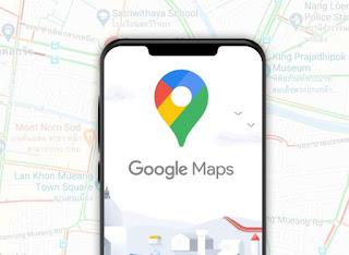 fitur pada google maps