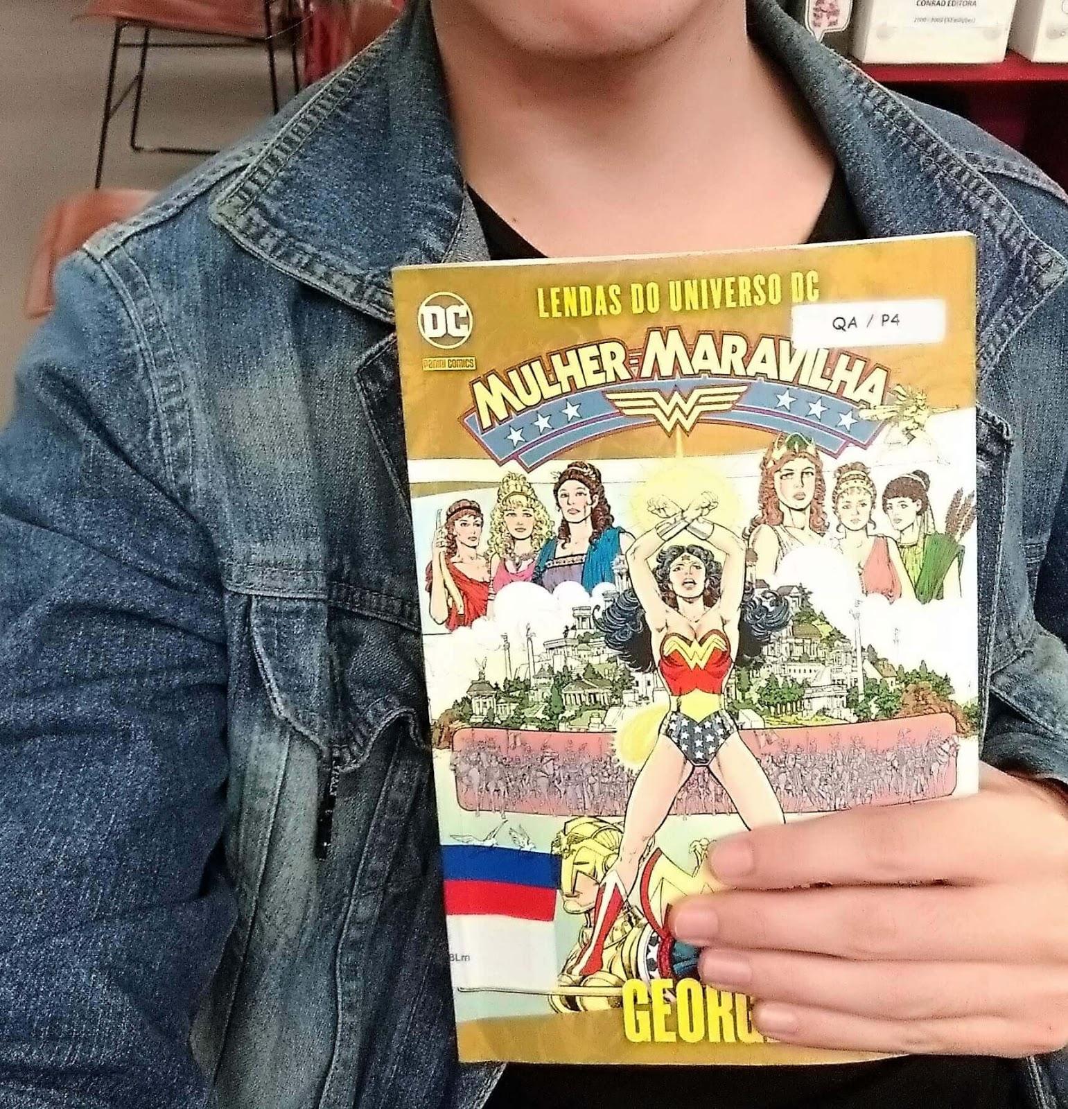 Mulher-Maravilha - George Perez - Gibiteca Henfil