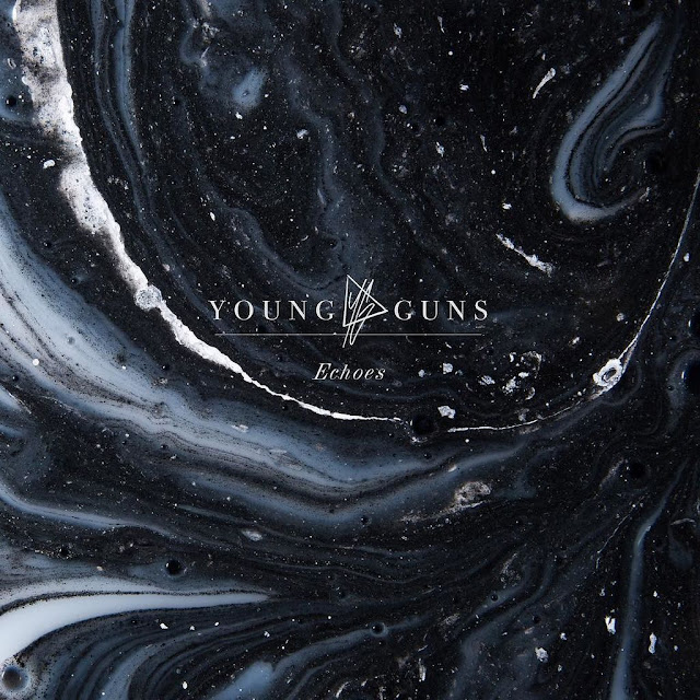 Album artwork for Young Guns fourth album, Echoes