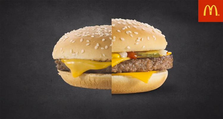 Por qué las hamburguesas de McDonalds solo salen bien en anuncios
