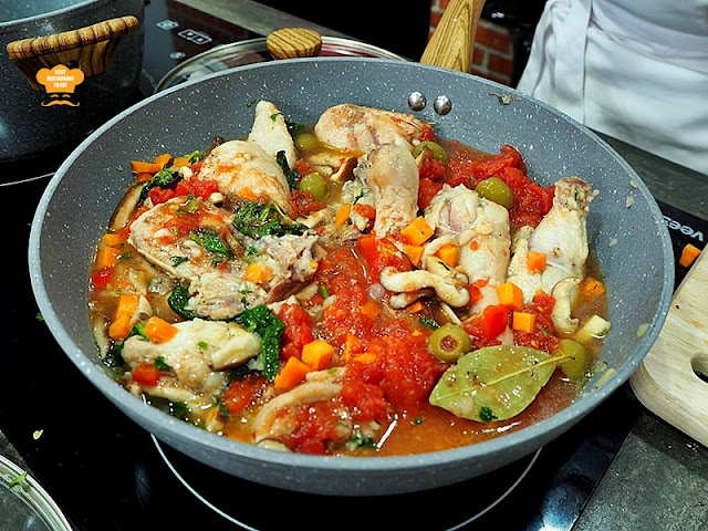 Chef Wan Specialities Dish - Stewed Spanish Chicken