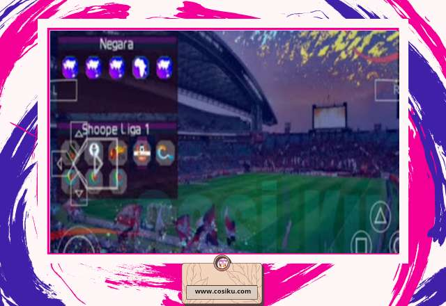 Game PPSSPP PES Asia League 2020-2021 Full Version PPSSPP Update Bursa Transfer & Jersey