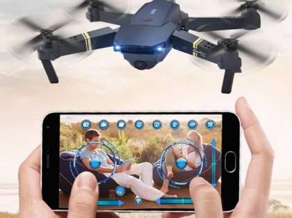 Selfie Menggunakan Drone