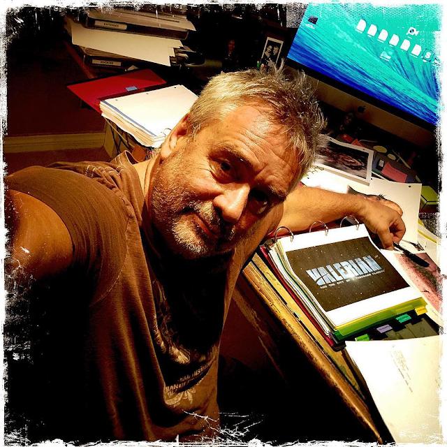 Regizorul Luc Besson munceşte din greu la filmul SF Valerian