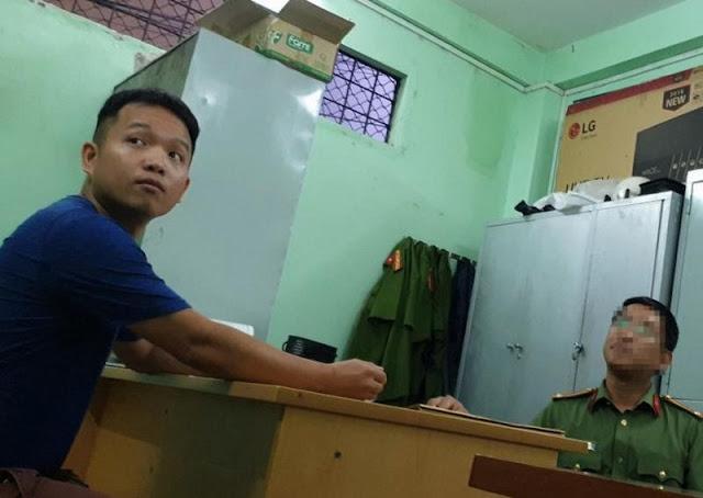 Bắt giam thiếu úy Công An và dân phòng phường 17 Bình Thạnh
