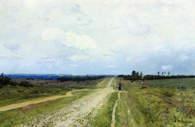 Исаак Ильич Левитан - Владимирка. 1892
